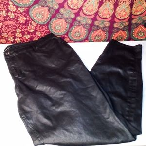 ✨Ashley Stewart Plus size black jeggings